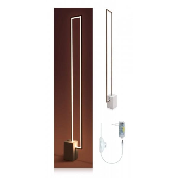 Urbane LED Stehleuchte Nunia - Lieferumfang