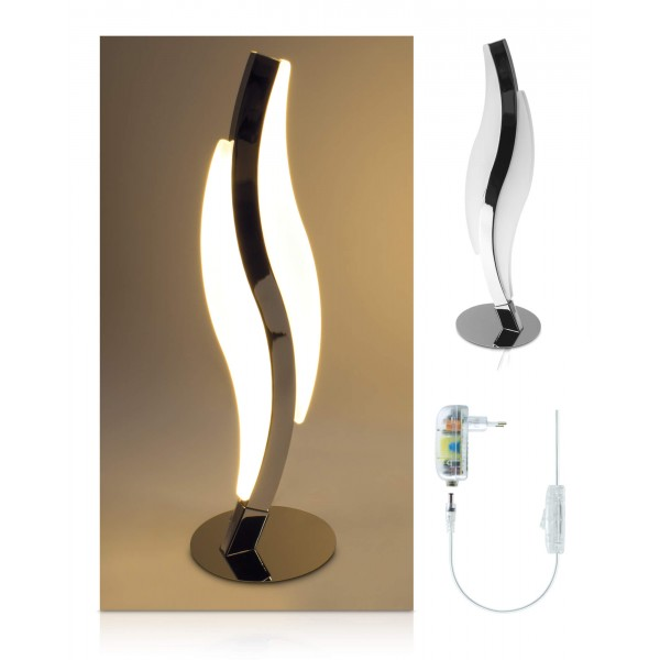 LED Tischleuchte Notas - Lieferumfang - inkl. 12 V Netzteil