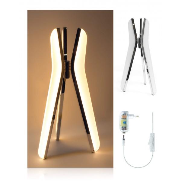 LED Tischleuchte Triilo - Lieferumfang - inkl. 12 V Netzteil
