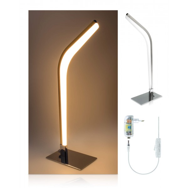 LED Tischleuchte Vaala - Lieferumfang - inkl. 12 V Netzteil
