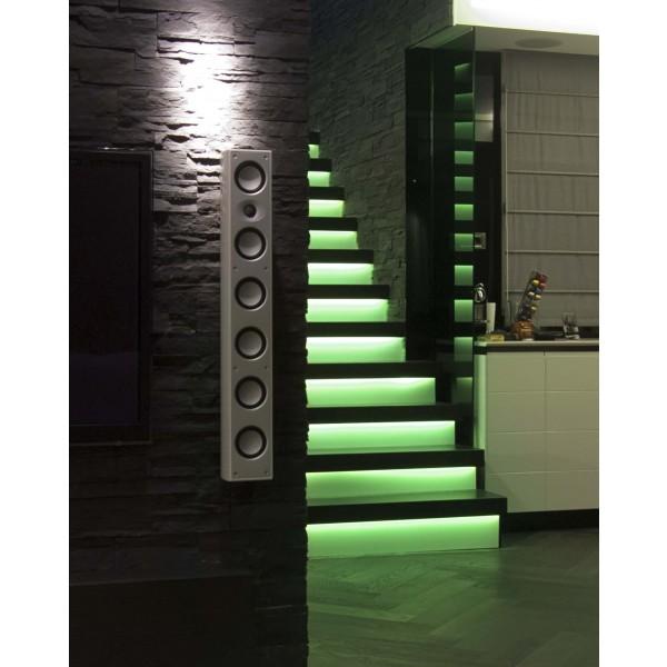 LED Treppenbeleuchtung für den Innenbereich - RGB - Anwendungsbeispiel - grün