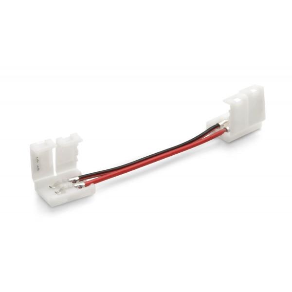 LED Verbinder mit Klipp 5cm Länge für einfarbige LED Streifen