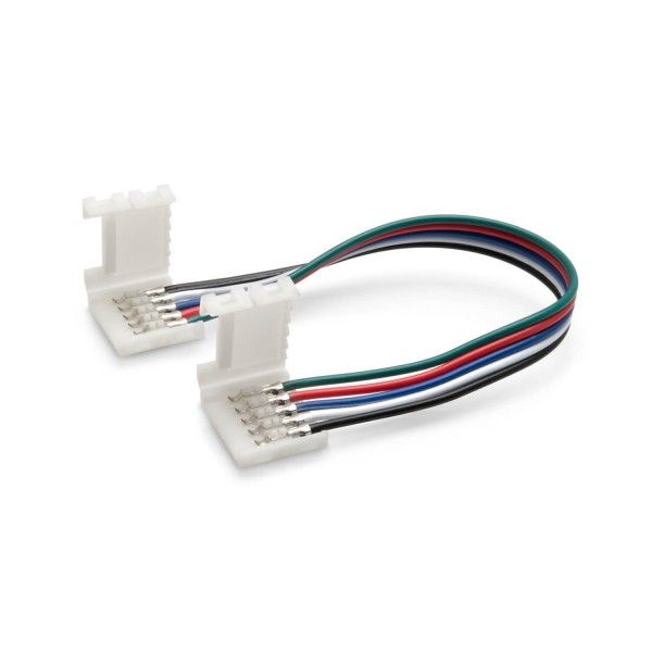 Schnellverbinder für RGBW LED Streifen 15 cm