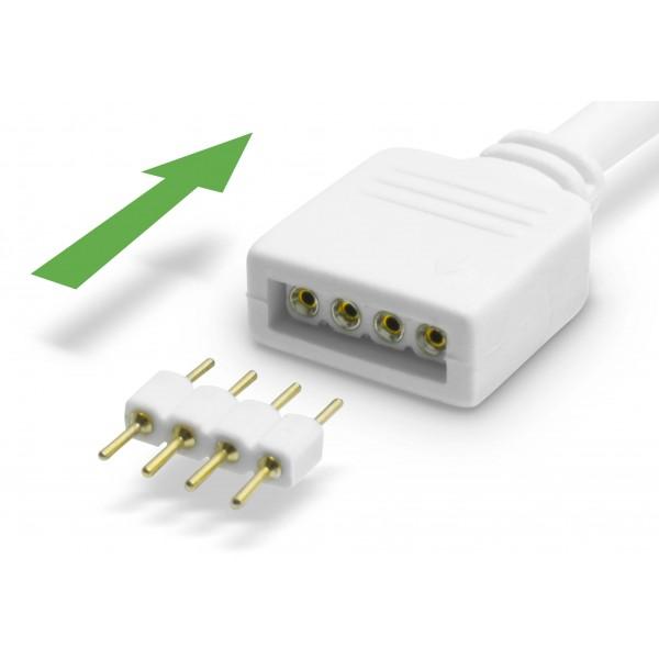 Verlängerungskabel für RGB LED Streifen