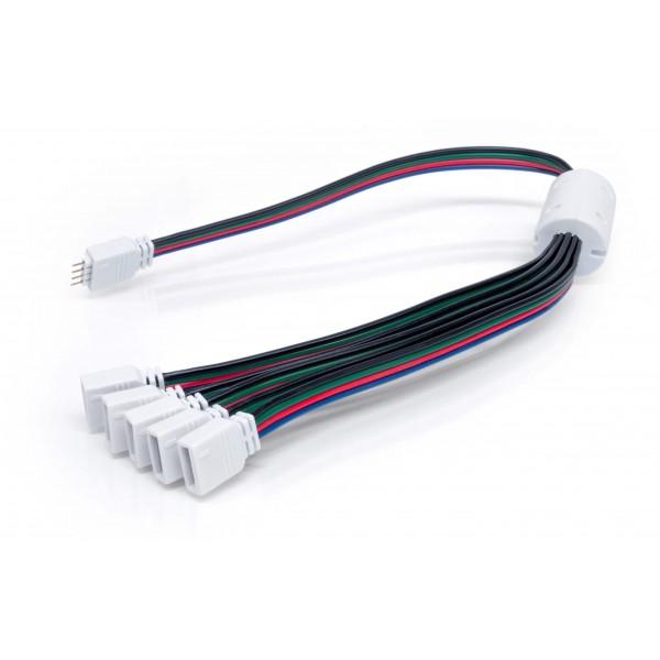 Verteiler 4 polig für RGB LED Streifen