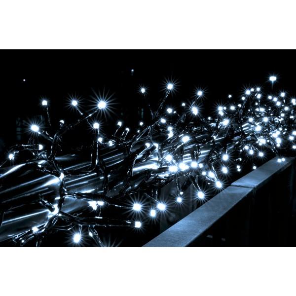 LED B??schellichterkette kaltwei?? mit 480 LEDs - Dekorationsvorschlag