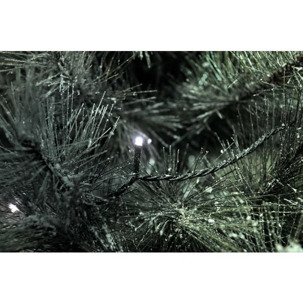 LED Lichterkette kaltwei?? mit 200 LEDs - Detailbild