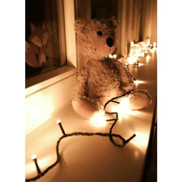 Weihnachtsbeleuchtung LED Lichterkette - Dekorationsvorschlag