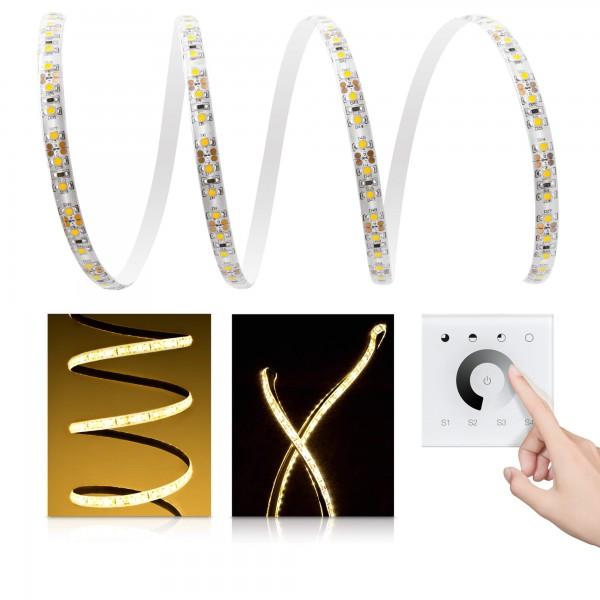 Comfort LED Streifen warmweiß 120 LED/m - mit Unterputzsteuerung
