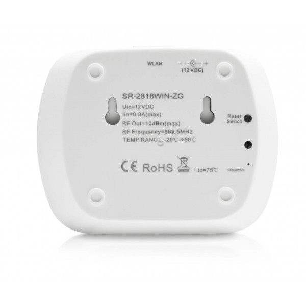 Zigbee Gateway Controller R??ckseite