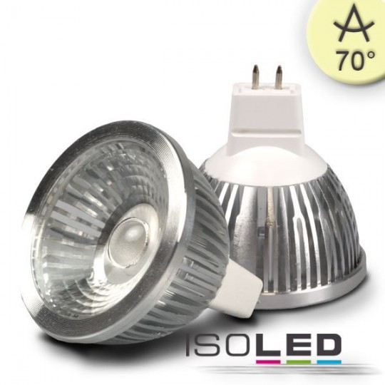 MR16 LED Strahler 5,5W COB, 70°, warmweiß, dimmbar