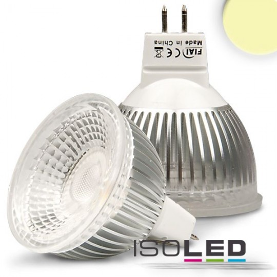 MR16 LED Strahler 6W GLAS-COB, 70°, warmweiß, dimmbar