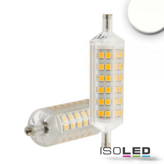 R7s LED Stab SLIM, 5W, 72 SMD, L: 78mm, dimmbar, neutralweiß