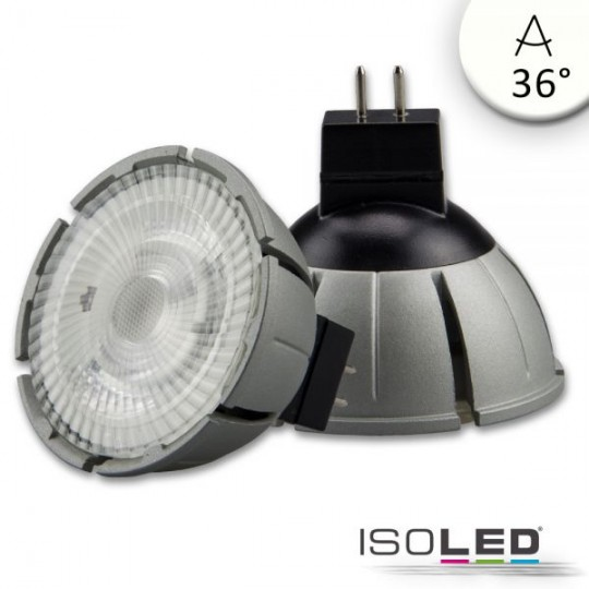 MR16 Vollspektrum LED Strahler 7W COB, 36°, 4000K, dimmbar
