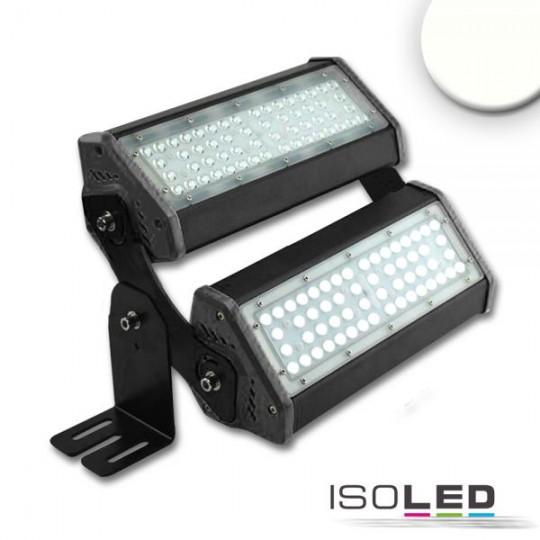 LED Fluter/Hallenleuchte LN 2x 50W 30°*70°, IP65, 1-10V dimmbar, neutralweiß