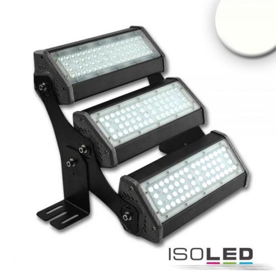 LED Fluter/Hallenleuchte LN 3x 50W 30°*70°, IP65, 1-10V dimmbar, neutralweiß