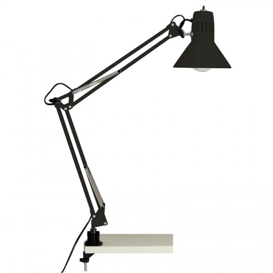 Brilliant 10802/06 Hobby Schreibtischklemmleuchte Metall Leuchte