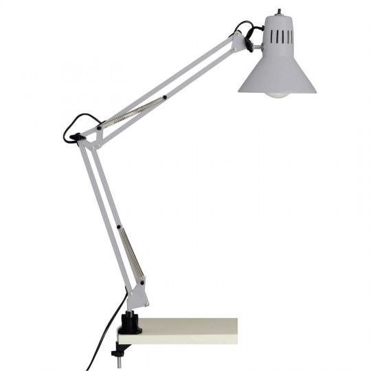 Brilliant 10802/11 Hobby Schreibtischklemmleuchte Metall Leuchte