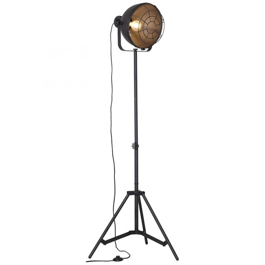 Brilliant 23759/06 Jesper Standleuchte 39cm (Gitter) Metall Leuchte