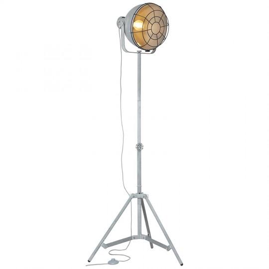 Brilliant 23759/70 Jesper Standleuchte 39cm (Gitter) Metall Leuchte