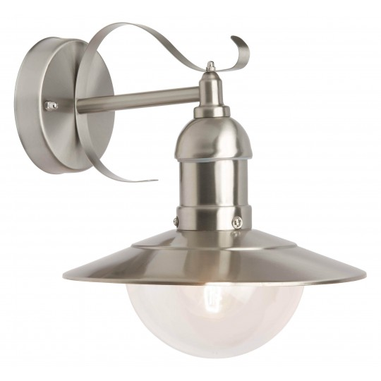 Brilliant 96129/82 Arto Aussenwandleuchte, haengend Metall/Kunststoff LED Lampen