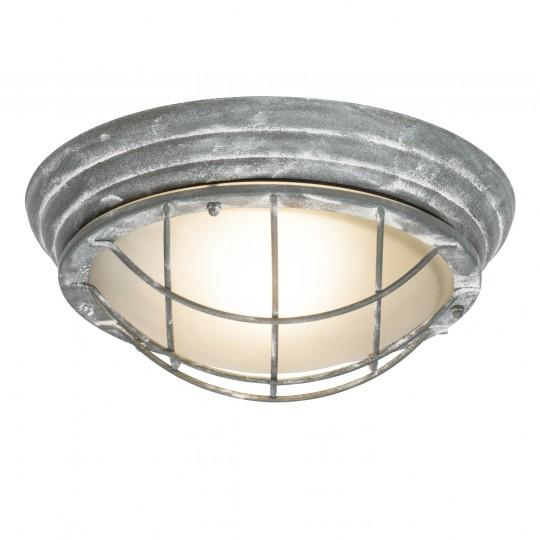 Brilliant 96301/70 Olena Aussenwand- und Deckenleuchte 28cm Metall/Glas LED Lampen