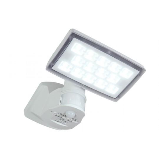 ECO-LIGHT 6295-PIR-5K WH LED-Außenwandstrahler PERI weiß, mit Bewegungsmelder