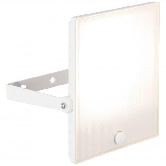 Brilliant G96362/05 Dryden Außenwandstrahler 30cm mit Bewegungsmelder Metall/Kunststoff weiß matt