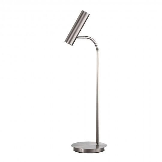 M6 Licht / LED 8 70251 Tischleuchte o. Glas 1x LED 3,5W nickel matt