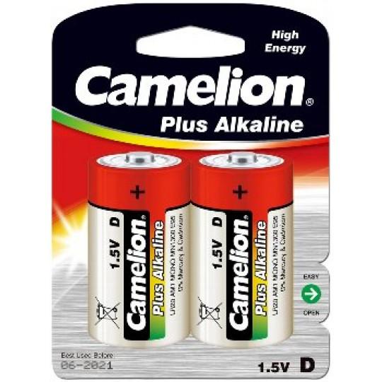 ChiliTec 17766 Mono-Batterien CAMELION AlkalinePlus, Ty D/LR20, 1,5V, 2er Pack