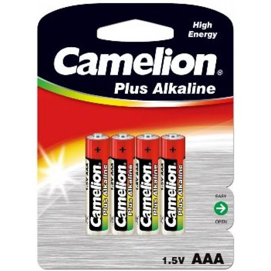 ChiliTec 17769 Micro-Batterien CAMELION AlkalinePlus, Typ AAA/LR03, 1,5V, 4er-Pack