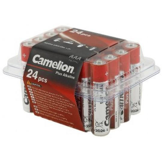 ChiliTec 17772 Micro-Batterien CAMELION AlkalinePlus, Typ AAA/LR03, 1,5V, 24er Haushaltsbox