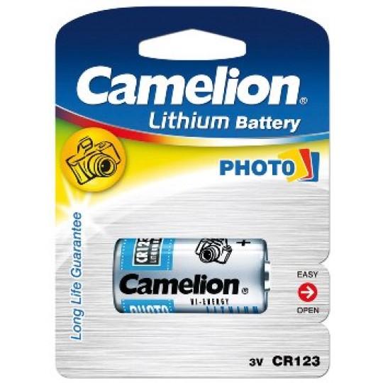 ChiliTec 17775 Lithium-Photozelle CAMELION CR123A, 3V