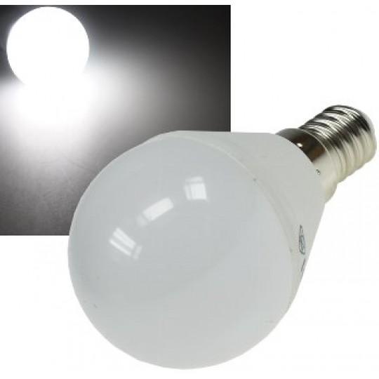 "ChiliTec 21184 LED Tropfenlampe E14 ""T50"" weiß, 6000k, 420lm, 230V/5W"