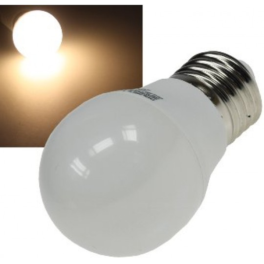 "ChiliTec 21185 LED Tropfenlampe E27 ""T50"" warmweiß, 3000k, 400lm, 230V/5W"
