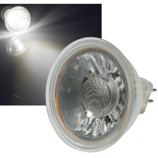 "ChiliTec 21337 LED Strahler MR16 ""H35 COB"", 1 COB, 4000k, 250lm, 12V/3W,neutralweiß"