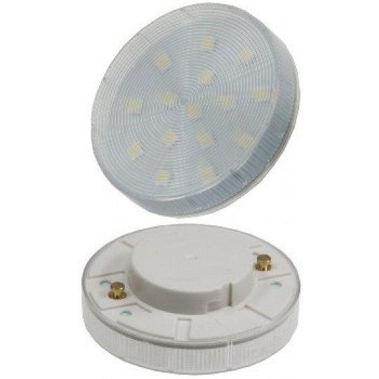 "ChiliTec 21548 LED Leuchtmittel GX53 ""XH 25"" weiß, 3W, 240lm, Ø75x25mm, 120°, 4000k"