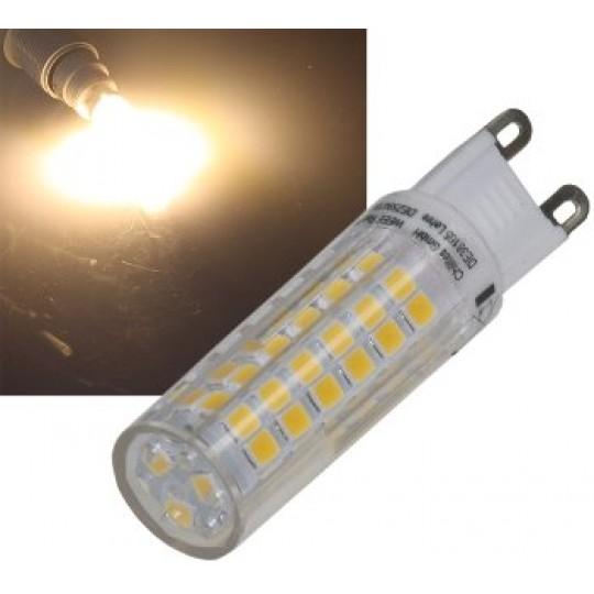 ChiliTec 21576 LED Stiftsockel G9, 6W, 540lm, 3000k, 330°, 230V, warmweiß