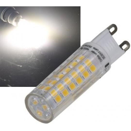 ChiliTec 21577 LED Stiftsockel G9, 6W, 550lm, 4200k, 330°, 230V, neutralweiß