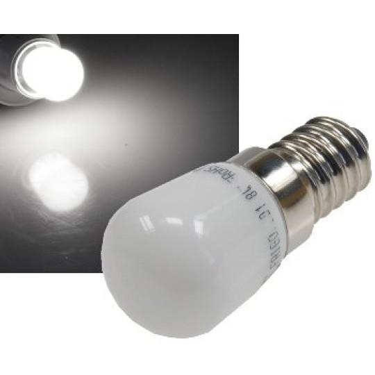ChiliTec 21581 LED Lampe E14, 1 SMD LED 23x51mm klein, 4200k, 150lm, 120°, 230V/2W, neutralweiß
