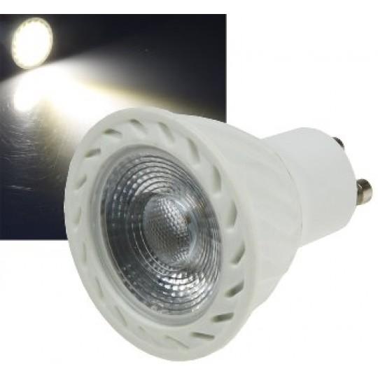 "ChiliTec 21685 LED Strahler GU10 ""H60 COB Dimmbar"", 4000k, 560lm, 230V/7W, neutralweiß"