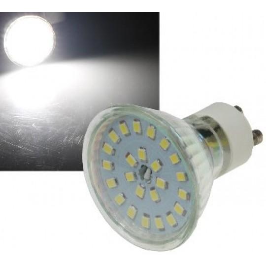 "ChiliTec 21732 LED Strahler GU10 ""H55 SMD"", 120°, 4000k, 420lm, 230V/5W, neutralweiß"