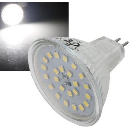 "ChiliTec 21734 LED Strahler MR16 ""H55 SMD"", 120°, 4000k, 420lm, 12V/5W, neutralweiß"