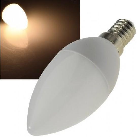 "ChiliTec 22694 LED Kerzenlampe E14 ""K70"" warmweiß, 3000k, 700lm, 230V/7W"
