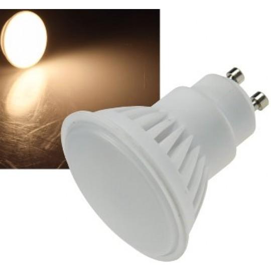 "ChiliTec 22696 LED Strahler GU10 ""H90"", 3000k, 870lm, 230V/9W, 120°, warmweiß"