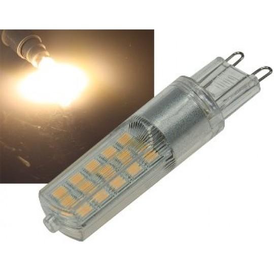 ChiliTec 22763 LED Stiftsockel G9, 4W, 340lm, dimmbar, 3000k, 330°, 230V, warmweiß