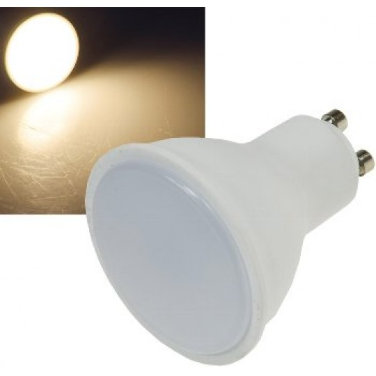 "ChiliTec 23000 LED Strahler GU10 ""RA95"", 2900k, 380lm, 230V/5W, 110°, warmweiß"