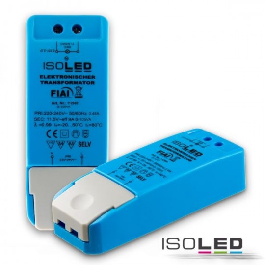 LED Trafo 12V/AC, 0-105VA, dimmbar