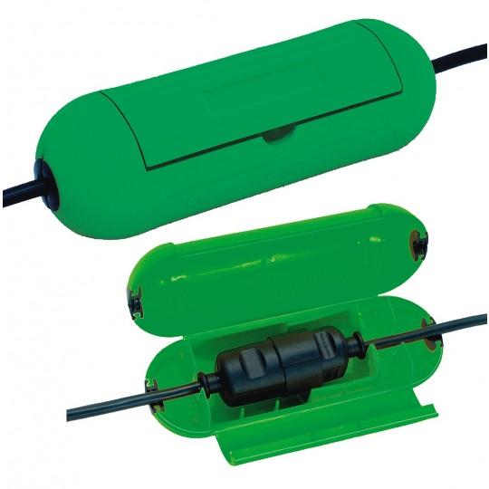 Brennenstuhl Safe-Box Schutzkapsel f??r Kabelverbindungen,  gr??n