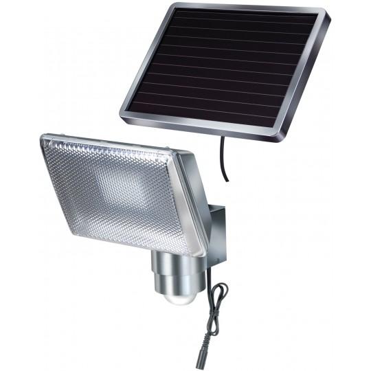 Brennenstuhl Solar LED Strahler SOL 80 Aluminium IP44 8xLED 8x0,5W 350lm Farbe Alu